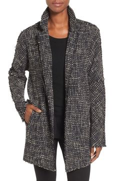 NIC+ZOE Tweed Jacket available at #Nordstrom