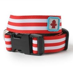 Striped Hydrant Patch Dog Collar-M- by BELLA BEAN COUTURE, http://www.amazon.com/dp/B00BW614H4/ref=cm_sw_r_pi_dp_RKm3rb0Z1X93C