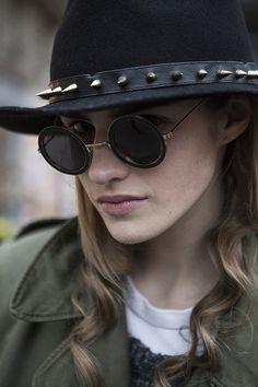 ☆ Rock 'n' Roll Style ☆ Maria, fashion editor/blogger | Man with a camera