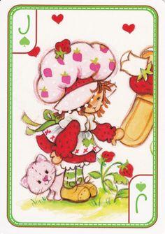 SSC Playing Cards - Best Deck - 33 Strawberry Shortcake Pictures, Strawberry Shortcake Characters, Vintage Strawberry Shortcake, Retro Cartoons, Old Cartoons, Huckleberry Pie, Strawberry Kitchen, Paper Dolls Printable, Rainbow Brite