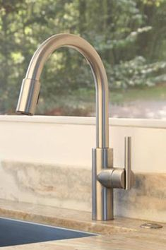 East Linear - Pull-down Kitchen Faucet - 1500-5103 - || Newport Brass