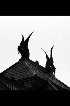 I knew there was something missing on my old middle class suburban house. Gargoyles. Never mind it's against the homeowner's assoc. rules.