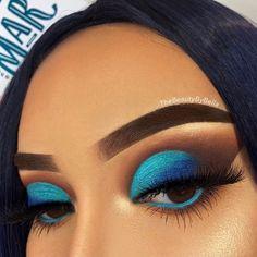 #eyeshadowart Makeup Eye Looks, Eye Makeup Art, Cute Makeup, Gorgeous Makeup, Skin Makeup, Eyeshadow Makeup, Makeup Tips, Makeup Ideas, Eyeshadows