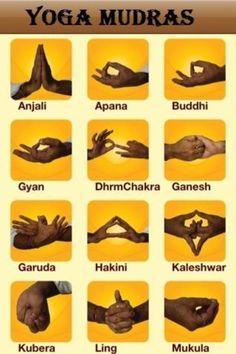 Yoga Mudras http://yogaforbeginners-andmore.blogspot.com/2014/01/yoga-5-poses-that-increase-happiness.html