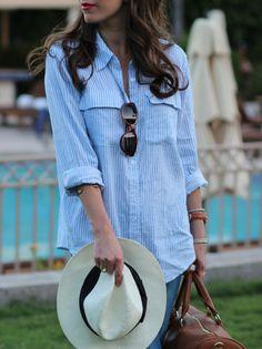 Outfit con camicia lunga - Fotogallery Donnaclick