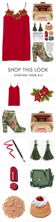 """OOTD by Sasoza"" by sasooza ❤ liked on Polyvore featuring Alexia Ulibarri, Bubbly Bows, Rubeus, Dollup Beauty, Ann Taylor, Chanel, Surratt and Illamasqua"