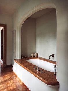A Master Artisan's Belgian Retreat | Architectural Digest Home Interior, Bathroom Interior, Interior Design, Steam Showers Bathroom, Small Bathroom, Bathroom Mirrors, Remodel Bathroom, Bathroom Cabinets, Glass Showers