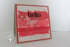Love for Stamping: Hello