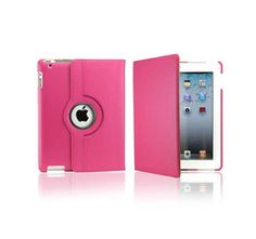 iPad Rotatable Case in Hot Pink Ipad Air, Hot Pink, Cases, Purple, Phone, Red, Black, Telephone, Black People