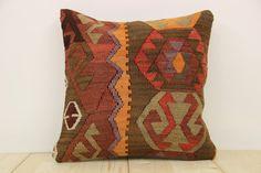 Hand Woven Turkish Kilim Cushion/ pillow Cover by kilimwarehouse, $50.00