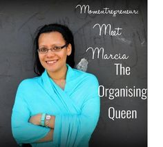 Meet momentrepreneur Marcia Francois, the organising queen who shares with us how she balances her life, work and family successfully. Organize Your Life, Mom Blogs, African, Meet, Organization, Lady, Getting Organized, Organisation, Tejidos