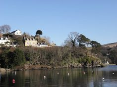 View of High Beech House from Portree Harbour