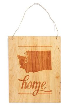 This is very sweet. (Other states available. Would be an awesome gift for a grad.) :: from Nordstrom