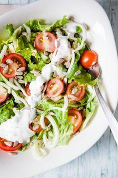 Schneller Salat mit Zucchini