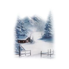 TUBES PAYSAGES ❤ liked on Polyvore featuring winter, tubes, christmas, snow and art