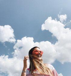 Hair aesthetic clouds summer sky pinterest // victoriaajenks