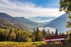 #Ägerisee #Morgarten #Morgartenberg #KantonZug #Schweiz #Alpen Mountains, Nature, Travel, Alps, Switzerland, Places, Viajes, Photo Illustration, Naturaleza