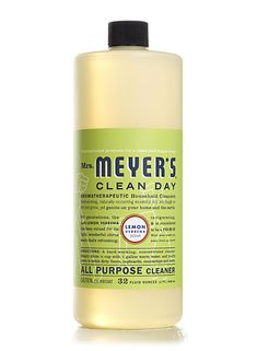 """So you're probably seeing this pin and rolling your eyes going """"oo a fancy cleaner, look at mrs fancy pins over here"""" but let me assure you- this cleanser is diluteable to unimaginable dilutions and still cleans great. I've been using the same bottle for years. Possibly 3 years. To clean pretty much everything. Thats good value for 8 bucks. Lemon Verbena All Purpose Cleaner from Mrs. Meyer's Clean Day"""