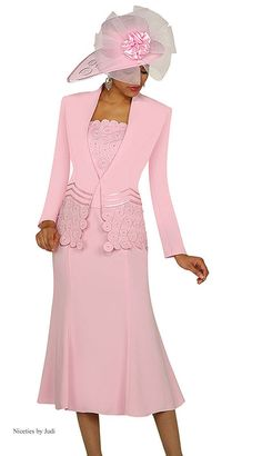 Check out the deal on GMI Womens Church Suit at French Novelty Church Suits And Hats, Church Attire, Women Church Suits, Church Dresses, Church Outfits, Suits For Women, Women Hats, Church Hats, Dress Suits