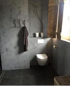 Concrete & Wood Uta Grabbert Concrete & Wood Uta Grabbert The post Concrete & Wood Uta Grabbert appeared first on Badezimmer ideen. Rustic Bathroom Vanities, Boho Bathroom, Grey Bathrooms, Bathroom Colors, Bathroom Sets, Bathroom Interior, Small Bathroom, Serene Bathroom, Bad Inspiration