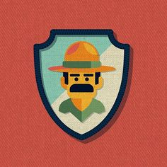 Outside Lands Patch: Ranger Dave designed by DKNG. Connect with them on Dribbble; the global community for designers and creative professionals. San Francisco Festivals, Outside Lands, Badge Design, Box Design, Keys Art, Unique Wallpaper, Vector Art, Creative Design, The Outsiders