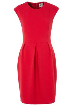KIOMI - THE PENCIL DRESS WITH BOX PLEAT - Zakelijke jurk - Rood