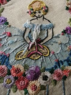 Embroideryi like this idea of thread and coloring or painting in color with water colors to make washes that compliment the thread….