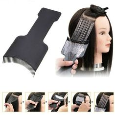 Cheap Hair Color, Buy Directly from China Suppliers:Professional Fashion Hairdressing Hair Applicator Brush Dispensing Salon Hair Coloring Dyeing Pick Color Board Hair Styling Tool Salon Hair Color, Cool Hair Color, Couleur Schwarzkopf, Ombre Hair, Balayage Hair, Professional Hair Dye, Hair Color Techniques, Mixed Hair, Grunge Hair