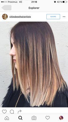 Brown Hair Balayage, Brown Blonde Hair, Hair Color Balayage, Bayalage, Haircolor, Beliage Hair, Beige Blond, Hair Color And Cut, Bridesmaid Hair
