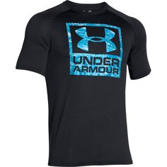 Pánské tričko Under Armour Boxed černé