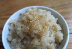 Veganer Milchreis mit Reismilch - laktosefrei, ohne Kuhmilch, histaminarm, glutenfrei