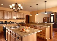Beautiful stone countertops like this are available from Stone Design in the Cincinnati area. http://www.housetrends.com/specialist/Stone-Design