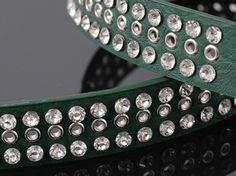 Women's Buckle Diamond Ornament Outlet Leather Belt Green on BuyTrends.com, only price $11.25