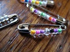 Friendship pins. Flashback to the 80's. I had these on the shoes and as bracelets. The girls would love these