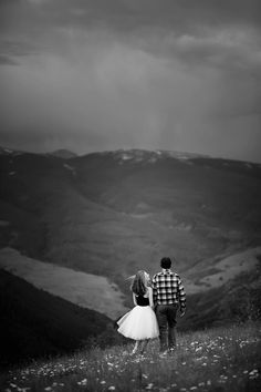 Engagement Photography in Vail   Jason+Gina Wedding Photographers   http://www.jason-gina.com   #engagement #mountain #outdoors