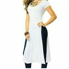 70 Ideas Fashion Design Hijab Beautiful For 2019 Casual Work Outfits, Curvy Outfits, Casual Dresses, Fashion Dresses, Colorful Fashion, Trendy Fashion, Fashion Tips, Dress Over Pants, Smart Outfit