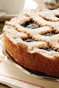 Crostata senza glutine alla marmellata di frutti rossi della Nonna