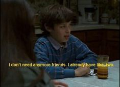 quotes, freaks and geeks, and friends image Freaks And Geeks, Funny Memes, Jokes, Memes Humor, Film Quotes, Quotes Quotes, Quote Aesthetic, Mood Pics, Mood Quotes