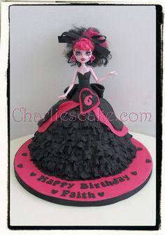 Monster High birthday cakes - on Pinterest | Monster High Doll Cake - by Charliescakeshop @ CakesDecor.com - cake ...