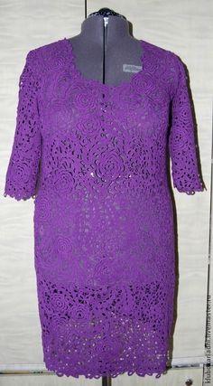 Dresses handcrafted.  Fair Masters - handmade.  Buy Dress VIOLET FALL.  Handmade.  Dark purple dresses