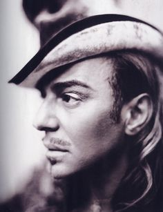 John Galliano by Paolo Roversi