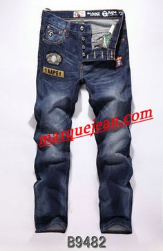 Vendre Jeans A Bathing Ape Homme H0010 Pas Cher En Ligne.