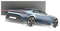 Future cars: Nevs Saab Active All-Rounder (midsize fastback).