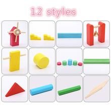 120 Pcs/set Wooden Domino Institution Accessories Organ Blocks Rainbow Jigsaw Dominoes Montessori Educational Toys for Children Montessori Materials, Montessori Toys, Puzzle Toys, Wooden Puzzles, Old Toys, Educational Toys, Baby Toys, Creative Design, Children
