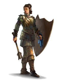Male Half-Elf Cleric of Erecura - Pathfinder PFRPG DND D&D 3.5 5th ed d20 fantasy