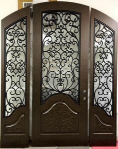 Awesome custom iron door! & Abby Iron Doors Jason langley   TamAndFont house   Pinterest ... Pezcame.Com