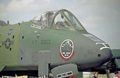 """A-10 Desert Storm Nose Art from My Base, RAF Alconbury, UK. The Entire Squardron were Custom Painted to """"Greet"""" Mr. Hussain during the """"Shock and Awe"""" of Desert Storm! No Aircraft Losses from Our Squadron, They Kicked Ass!"""