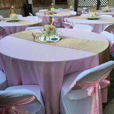 Pink Cinderella Princess party | CatchMyParty.com