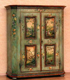 Tyrol Dolomites Furniture -Shelving and Cabinets - America Italiana Custom Furniture