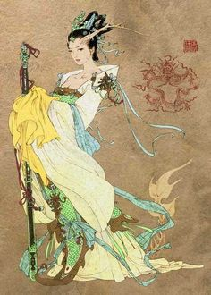 ? Dragon King's Daughter Chinese Mythos